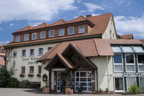 Außenansicht des Hotel-Restaurant Jägerhof